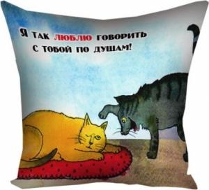 Подушка По душам 40х40