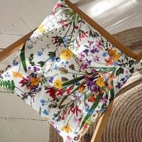 Подушка на стул Яркие Цветы