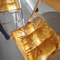 Подушка на стул Цветы с поля