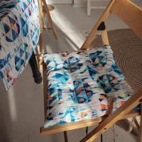 Подушка на стул Узоры