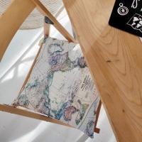 Подушка на стул Карта Мира