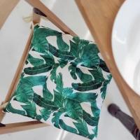 Подушка на стул Бамбуковые Листья
