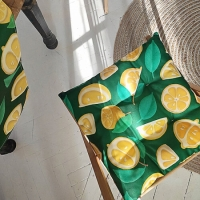 Подушка на стул Лимон