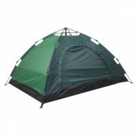 Палатка 6-местная туристическая автоматическая 230х230х150 см (зеленый)