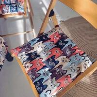 Подушка на стул Яркие Котики