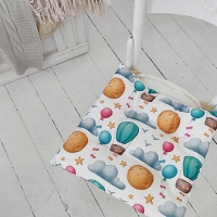 Подушка на стул Воздушный Шар