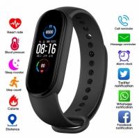 Фото Фитнес браслет смарт часы Smart Band M5 шагомер, измерение давления и пульса