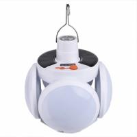 Подвесная лампа фонарь для кемпинга с аккумулятором