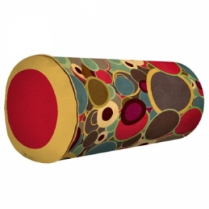 Подушка-валик цветная