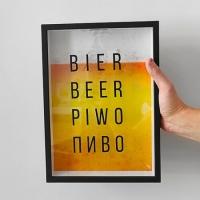 Фото Копилка для пивных крышек Beer