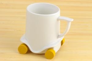 Чашка на колесиках