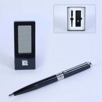 Часы портативные+ручка черная Pierre Cardin
