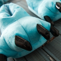 Фото Домашние тапочки кигуруми Лапы Синие