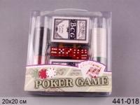 Игра настольная Покер 80 фишек