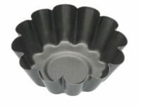 KC NS Формы для выпечки мини Корзинки рифленые с антипригарным покрытием 6см 4 единицы
