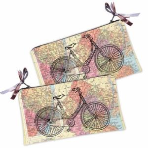 Косметичка-кошелек Велосипед