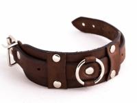 Кожаный браслет GO с пряжкой