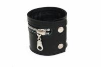 Кожаный браслет Zipper