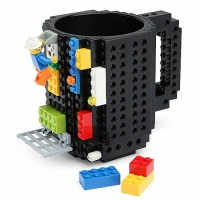 Фото Кружка Lego брендовая 350мл Black
