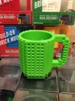 Фото Кружка Lego брендовая 350мл Green
