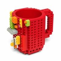 Фото Кружка Lego брендовая 350мл Red