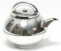 Кухонный таймер Чайник серебро