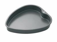 MC NS Форма для выпечки пирога Сердце с антипригарным покрытием 26см х 24см