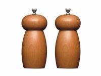 MC Набор мельниц для соли и перца деревянный 14 см