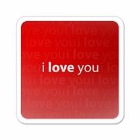 Магнит love you
