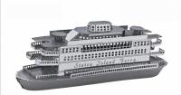 Металлический конструктор корабль