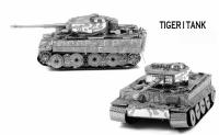 Металлический конструктор танк