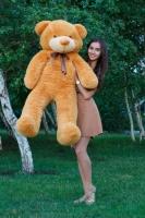 Мишка Тедди 140 см Кремовый