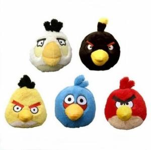 Мягкая игрушка Angry Birds музыкальная