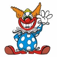 Наклейка Детская Clown