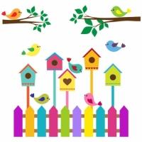 Наклейка Детская Nesting Box