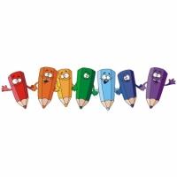 Наклейка Детская Pencils