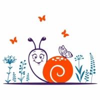 Наклейка Детская Snail