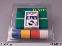 Настольная игра Покер 80  фиш блистер