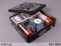 Настольная игра Покер 80 фишек