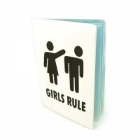 Обложка для автодокументов Girls rule