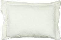 Подушка детская силиконовая белая 40х60