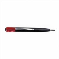Ручка шариковая с красным акрилом