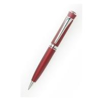 Шариковая ручка с матовым покрытием красная