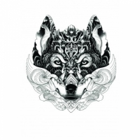Скетчбук Волк