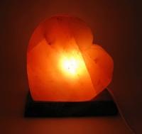 Соляная лампа сердце (18Х18Х10 см)