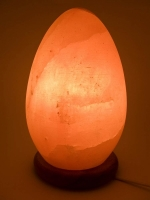 Соляная лампа яйцо (20Х11 см)