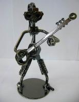 Техно арт гитарист металл 18Х11Х7 см
