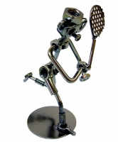 Техно арт теннисист металл 16Х12Х8 см