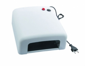 Ультрафиолетовая лампа для наращивания ногтей 36 w 818 с таймером на 120 секунд