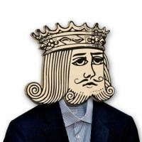 Вешалка Пиковый Король